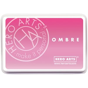 Hero Arts: Pink To Red - Ombre Ink Pad