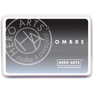 Hero Arts: Gray To Black - Ombre Ink Pad