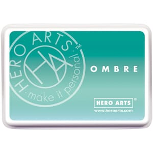Hero Arts: Mint To Green - Ombre Ink Pad