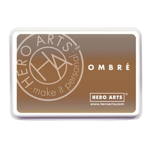 Hero Arts: Sand To Chocolate Brown - Ombre Ink Pad