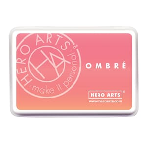 Hero Arts: Light To Dark Peach - Ombre Ink Pad