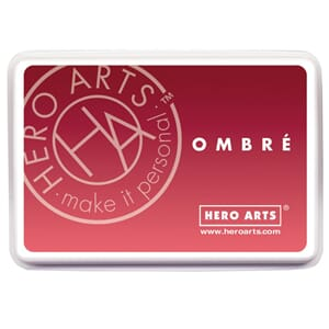 Hero Arts: Light To Red Royal - Ombre Ink Pad