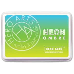 Hero Arts: Chartreuse To Blue - Ombre Ink Pad
