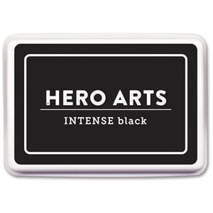 Hero Arts: Intense Black Dye Ink Pad