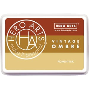 Hero Arts: Vintage Metallic Rust - Ombre Ink Pad