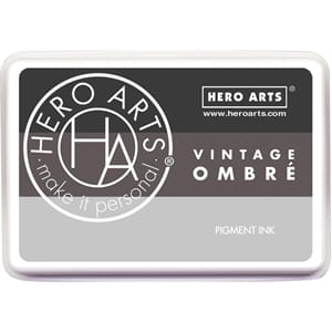 Hero Arts: Vintage Metallic Steel - Ombre Ink Pad