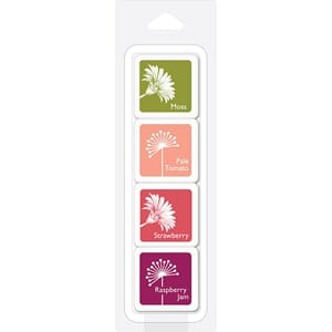 Hero Arts: Poinsettia Layering Ink Cubes 4/Pkg