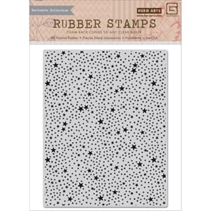 Hero Arts: Tiny Star Background - Cling Stamps