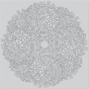 Hero Arts: Floral Doily Bold Cling Stamps, 6x6 inch
