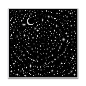 Hero Arts: Star Light Star Bright Bold Prints Cling stamp