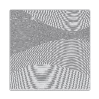 Hero Arts: Ocean Waves bold Prints Cling stamp