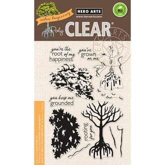 Hero Arts: Color Layering Mangrove Clear Stamps 4x6