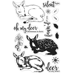 Hero Arts: Color Layering Fawn Clear Stamps, 4x6 inch