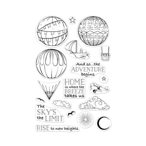 Hero Arts: Sky's the Limit Balloons Clear Stamps
