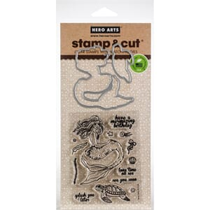 Hero Arts: Mermaid Stamp & Cut