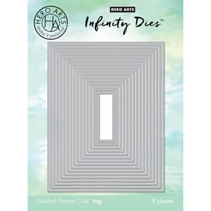 Hero Arts: Rectangle - Infinity Dies