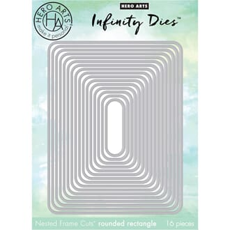 Hero Arts: Rounded Rectangle Infinity Dies