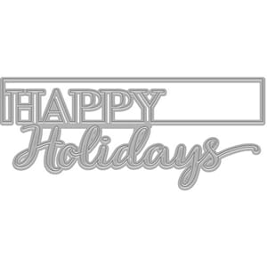Hero Arts: Holidays Cut-Out Fancy Dies