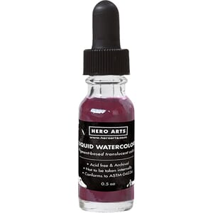 Hero Arts: Mulled Wine Liquid Watercolors, .5oz