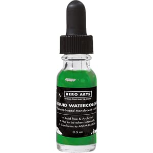 Hero Arts: Leaf Liquid Watercolors, .5oz