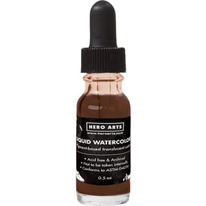 Hero Arts: Cocoa Liquid Watercolors, .5oz