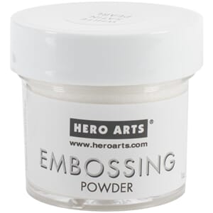 Hero Arts: White Satin Pearl - Embossing Powder, 1oz