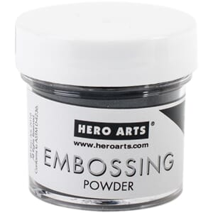 Hero Arts: Detail Black - Embossing Powder, 1oz