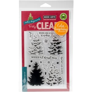 Hero Arts: Christmas Tree Clear Stamp & Die Combo