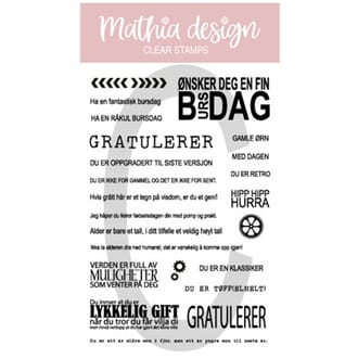 Mathia design - Gutteplata,str 10x15cm