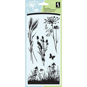 Inkadinkado: Meadow Clear Stamps 4x8 inch