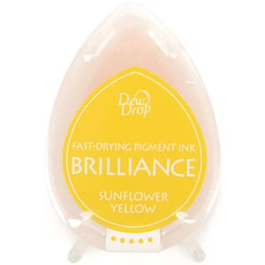 Brilliance Dew Drop - Sunflower Yellow Pigment Ink Pad