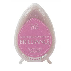 Brilliance Dew Drop - Pearlescent Orchid Pigment Ink Pad