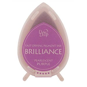 Brilliance Dew Drop - Pearlescent Purple Pigment Ink Pad