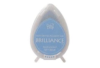Brilliance Dew Drop - Pearlescent Sky Blue Pigment Ink Pad
