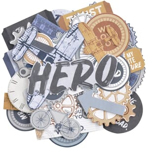 Kaisercraft: Workshop Collectables Cardstock Die-Cuts