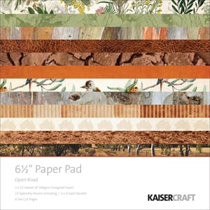 Kaisercraft: Open Road Paper Pad, 40/Pkg