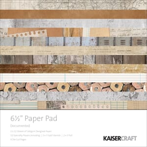 Kaisercraft: Documented Paper Pad, 40/Pkg
