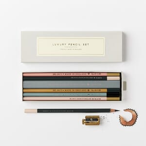 Katie Leamon luxury pencil set pastel