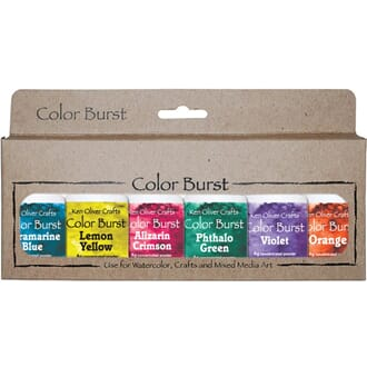 Ken Oliver: Brights - Color Burst Powder, 6/Pkg