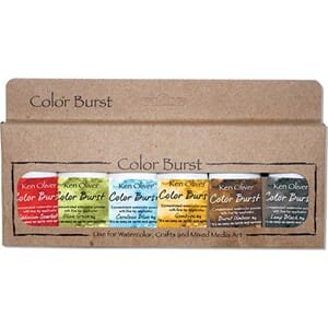 Ken Oliver: Moroccan - Color Burst Powder, 6/Pkg