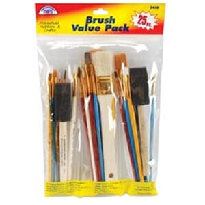 Loew-Cornell: Brush Set Value Pack 25/Pkg
