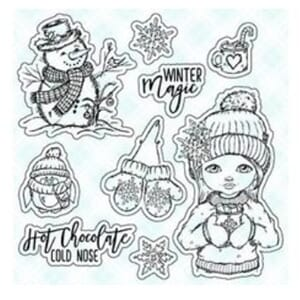 LDRS Creative: Hot Chocolate Clear Stamps, 4x6 inch