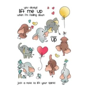 LDRS Creative: Up and Away Clear Stamps, 4x6 inch