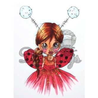 LDRS: Little Lady Bug - Rubber Stamps
