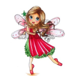 LDRS: Fairy Wishes - Rubber Stamps