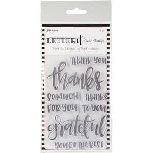 Ranger: Thank You Letter It Clear Stamp Set, 4x6 inch