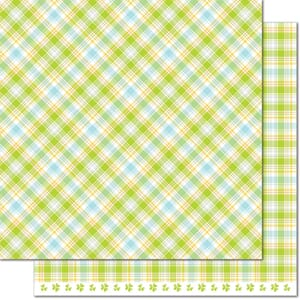 Lawn Fawn: Hydrangea - Perfectly Plaid Spring