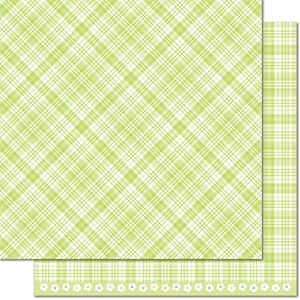 Lawn Fawn: Lily Of The Valley - Perfectly Plaid Spring