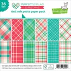 Lawn Fawn: Perfectly Plaid Christmas Paper Pack, 6x6, 36/Pk