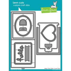 Lawn Fawn: Magic Color Slider Cuts Custom Craft Die